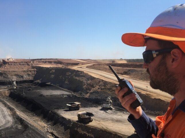 Mine site radio communications