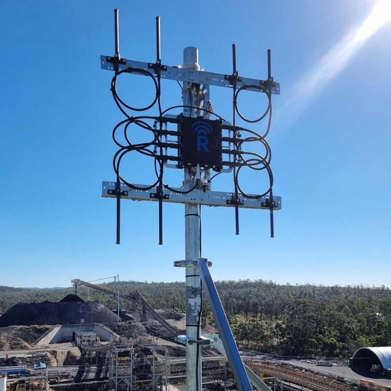rajant kinetic mesh installed
